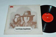 LUC ET LISE COUSINEAU Laisse Un Temps a L'amour LP 1971 Polydor Quebec Rock VG