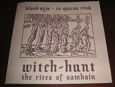 Blood Axis  In Gowan Ring  Witch-Hunt ‎– The Rites Of Of Samhain Blutharsch Dij