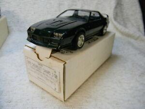 AMT 1/25 SCALE 1992 DEALER PROMO CAR CAMARO Z/28 COUPE POLO GREEN METALLIC -MIB