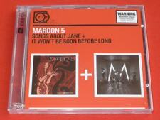 MAROON 5 SONGS ABOUT JANE + IT WON'T BE SOON BEFORE LONG 2CD