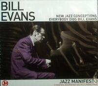 CD BILL EVANS - jazz manifiesto, new conceptos de la, nuevo - embalaje original