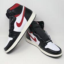 Nike Air Jordan 1 Retro High OG Black Gym Red White Sail Sneakers Mens Size 17