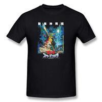New Godzilla Japan Mens T-shirt Black