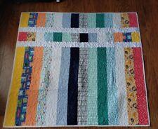 Handmade Quilt Crib Blanket 41 × 42 1/2