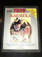 Karateka (Atari 7800, 1987) *BUY 2 GET 1 FREE +FREE SHIPPING*