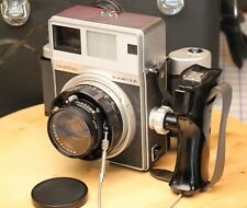 Mamiya Press Universal Medium Format Camera 100mm f/3.5 Lens, 6x7/polaroid backs