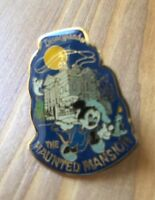 """Vtg 1980's Disneyland Haunted Mansion Mickey w/ Candle Pin RARE """"Holy Grail"""" 80s"""