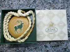 VINTAGE STAG SOAP ON A ROPE ORIGINAL BOX