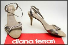 Diana Ferrari Leather Geometric Shoes for Women