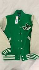 Adidas Originals nigo 25 Varsity College Mens Leather Sleeves Jacket M69184