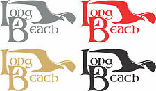 City Of Long Beach Window Decal Vinyl Long Beach Sticker