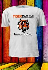 Muay Thai Tiger Phuket Pattaya Tailandia Deportivo para Hombre Mujer Unisex Camiseta 811