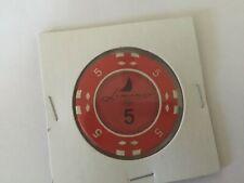 Casino Liman Kyrenia Cyprus 5 denomination casino chip