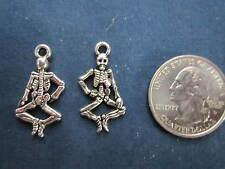 wholesale lot 75 skeleton halloween charms make pendant, earrings bracelet