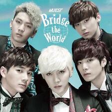NU'EST -  BRIDGE THE WORLD  Japan 1st Album CD K-POP Sealed NUEST IDOL