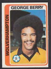 Topps - Footballers (Blue Back) 1979 - # 372 George Berry - Wolves