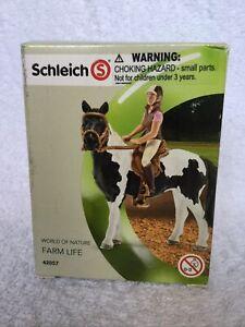 SCHLEICH RECREATIONAL RIDING SET #42057 World Of Nature Farm Life Saddle Bridle
