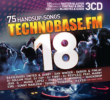 CD Technobase.FM Volume 18 von Various Artists 3CDs