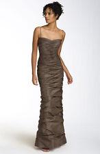 Teri Jon Ruched Taffeta Gown( Size 14)