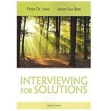 HSE 123 Interviewing Techniques: Interviewing for Solutions 4th US edition New