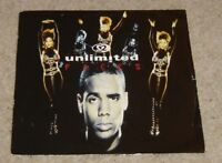 """2 Unlimited Faces 7"""" Single - VG+"""