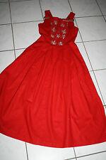 Kl2920 @ lino bávara @ Trachten vestido @ miederdirndl @ dress 36