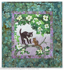 Quilt Pattern ~ WIND IN THE WHISKERS - THE LOCAL BRANCH ~ Bl 4 by McKenna Ryan
