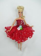 Barbie Doll Outfit Costume Fancy Dress Fairytopia Ballerina Fairy Angel # FA-5