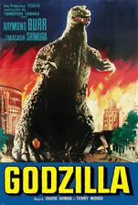 Godzilla with Raymond Burr New 24x36 Toho Poster!