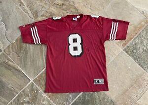 Vintage San Francisco 49ers Steve Young Starter Football Jersey, Size Large / XL