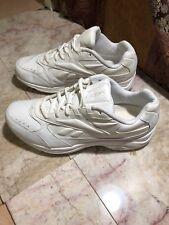 Reebok DMX MAX Walking Size 9.5 US 8.5 UK Mens 703 PYE 11-137464 EUC White 2E W