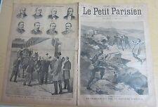 Le petit parisien 1893 220 Libération de M. Turpin / frontière espagnole