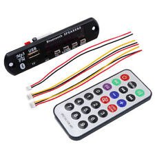 12V Wireless Bluetooth Mp3 Wma Decoder Board Audio Module Usb Tf Radio For Car