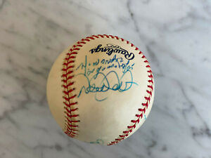 🔥 RARE Derek Jeter Mariano Rivera Roger Clemens Orlando Hernandez baseball JSA