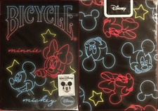 Bicycle Disney Neon Playing Cards - Limited Edition - SEALED