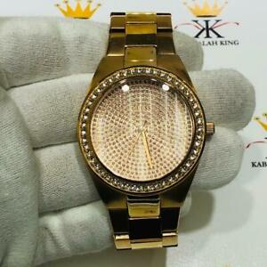 Guess  U11663L1 Rose Gold Swarovski Crystal Ladies Quartz Movement Watch Gift