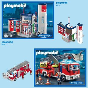 Playmobil * FIRE STATION 4819 4820 4821 7465 * Spares * SPARE PARTS SERVICE *