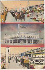 Galveston TX Texas Douvry's SEAVIEW CAFE 1942 Roadside Linen Postcard
