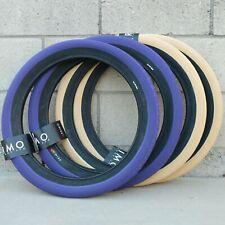 """2 Micro Mini BMX 20x1-1//8 20/"""" 1-1//8 Slick Tires Wire Bead All Purple"""