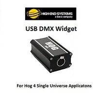 Hog USB DMX Widget 4 Signal Converter by High End Systems a Barco Company