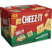 Sunshine Cheez-it Crackers 1.5 oz Bag White Cheddar 45/Carton 10892