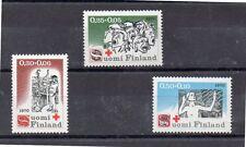 Finlandia Cruz Roja Serie del año 1970 (DI-459)