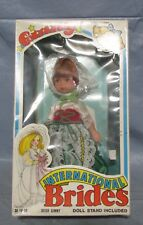 NOS Vogue Ginny Doll Vintage International Brides IRISH GINNY 1982 Orig Box