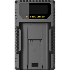 NITECORE ULM9 USB Travel Charger for Leica M8 M9 M-E14464 Camera battery