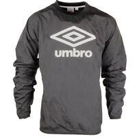 Mens Umbro Logo Print Trent Woven Track Top Long Sleeve Sports Training Shirt