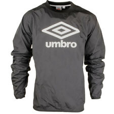 Mens Umbro Logo Print Trent Woven Track Top Long Sleeve Sports Training Shirt