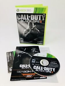 Call of Duty: Black Ops II [2] (XBOX 360, 2012) Game Complete Great Condition!