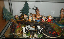 WDCC Signature Series Snow White and the 7 Dwarfs on Log Heigh-Ho Walt Disney
