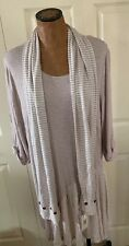 simply noelle Large / Xlarge Dress With Matching Scarf. New With Tags