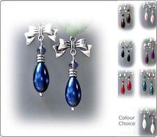 Handmade Clip - On Religious Fashion Earrings